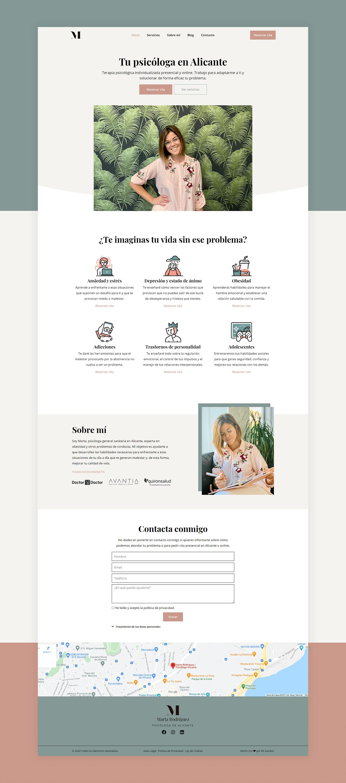 Diseño Web Psicología